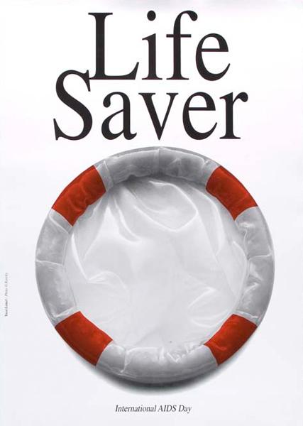 LIFESAVER: INTERNATIONAL AIdS DAY – Graphic Design Fall '16